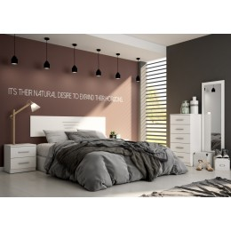 Dormitorio Basic Blanco