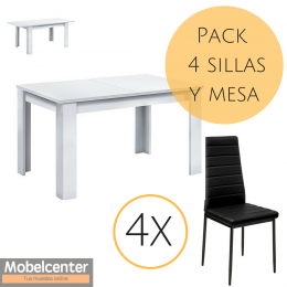 Packs mesas y sillas baratas - Mobelcenter